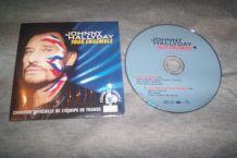 CD SINGLE 2 TITRES JOHNNY HALLYDAY tous ensemble