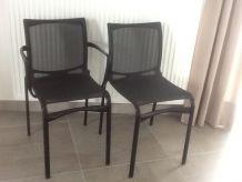 5 chaises ALIAS