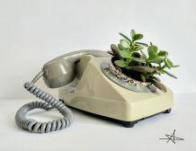 Cache pot - Téléphone Gris 1977
