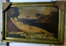 """Cadre Tableau Image """"Vénus Endormie"""""""