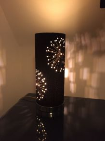 Lampe à poser cylindrique