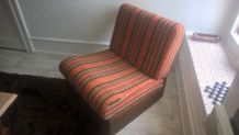 fauteuil bas année 70