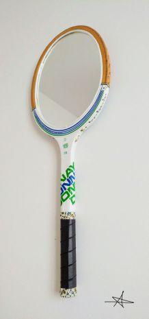 "Miroir, raquette tennis, raquette miroir - ""JR"""