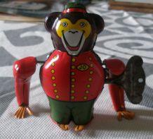 Mechanical Monkey Jo, Joustra, 1950, jouet métallique complet