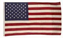 Drapeau Américain authentique