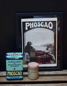 Publicité encadrée Phoscao années 30
