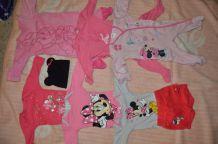 lot de body +short  et pyjama mini
