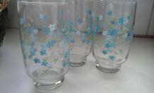 3 verres vintage