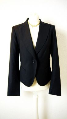 Blazer noir Calvin Klein taille 40