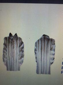 manteau fourrure marmotte canada