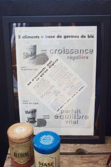 Publicité Blédine encadrée 1932
