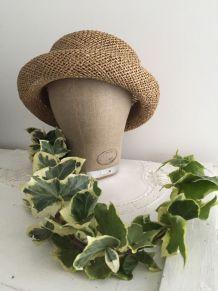 Marotte en lin, tête à chapeau, accessoire de modiste