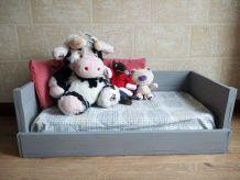Canapé en bois pour enfant