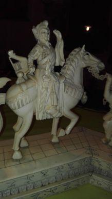 Sculpture chinoise en corne