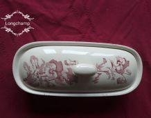 porte-savon faience de Longchamp, bel objet de collection