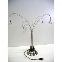 Lampe de Table 6 bras Jan des Bouvrie vintage