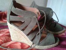 Sandales compensées pointure 38