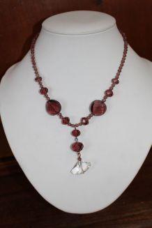 Collier effet diamant chic/glamour/ vintage oriental