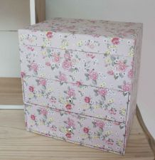 boîte à bijoux à fleurs