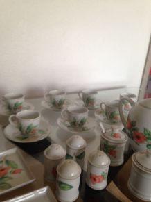 service porcelaine Apilco