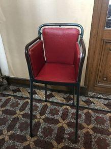 Chaise haute vintage