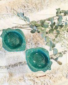 Poissons ceramique St Clement