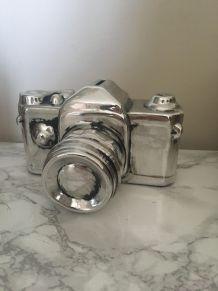 Tirelire appareil photo