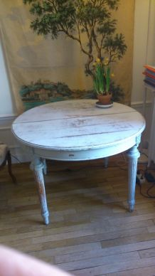 Table Style Louis XVI - Fin du 19ème siècle