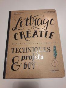Lettrages créatifs techniques et projets DIY