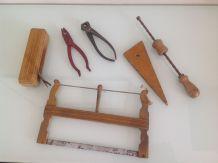 Vintage jouets anciens / outils de menuisier