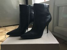 Bottines noires San Marina