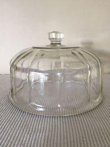 Cloche ancienne en verre