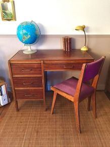 Bureau vintage annees 50