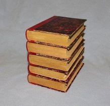 5 livres travaux scolaire anciens