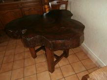 Table en orme massif
