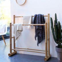 Porte serviettes bambou