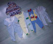 Lot de vêtements vintage 6-12 mois