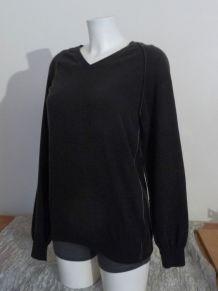 Pull Vert Kaki 80% Laine 20% Polyamide- Taille M- Wool & Co