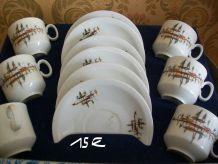 service à café 6 tasses