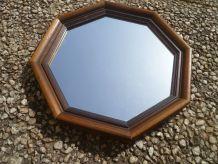 miroir octogonal  vintage