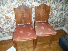 chaises rétro