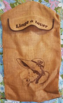 Jolie sacs à linge