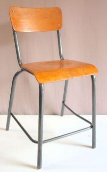 Chaise haute industrielle