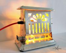 """Lampe industrielle, lampe vintage - """"Mucho Calor"""""""