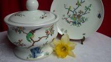 Récipient  porcelaine de Limoges Kakiemon