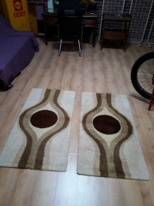 tapis de lit holandais collection 1970