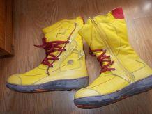 bottes jaune