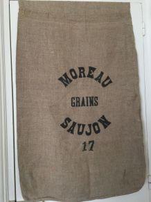Sac en chanvre, sac à grains