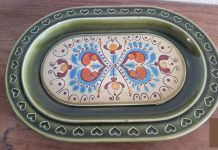 Plats ovale céramique