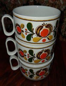 Lot 3 ancienne tasse vintage